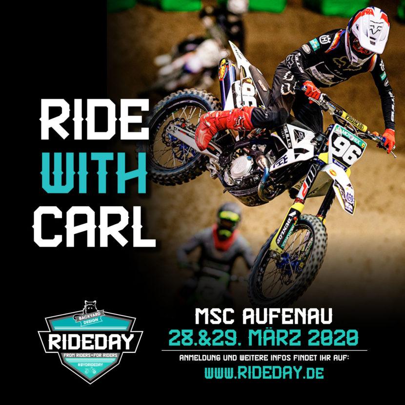 Carl Ostermann Backyard Rideday 2020 Supercross