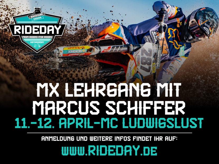 Motocross Lehrgang Marcus Schiffer 2020